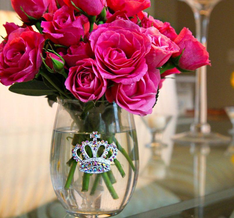 Aurora Borealis Stemless Jeweled Wine Glass