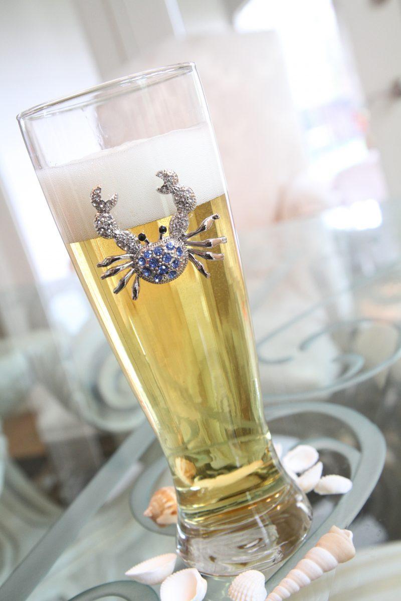 Blue Crab Jeweled Pilsner