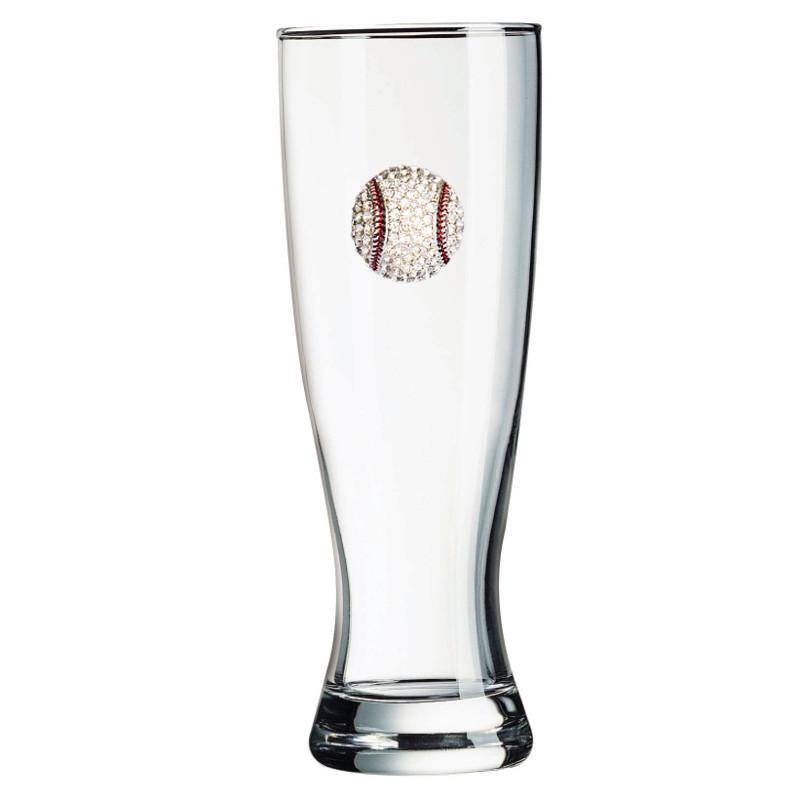Baseball Jeweled Pilsner