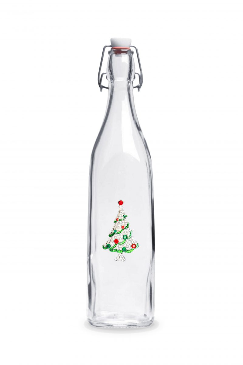 Christmas Tree Swing Top Bottle